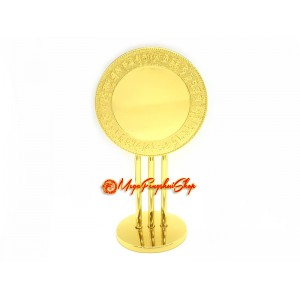 4 Elements Cross Mirror Reflecting Superior Wealth Luck