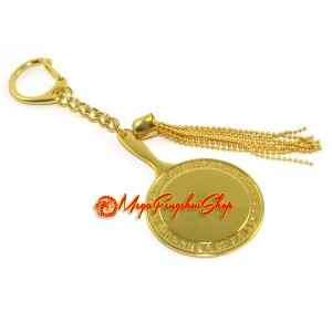 9/4 Hotu Mirror for Business Success and Profit Keychain
