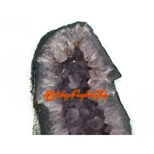 Amethyst Quartz Crystal Geode (L)