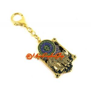 Anti-Burglary Amulet Feng Shui Keychain