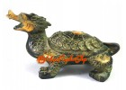 Antiquated Brass Feng Shui Dragon Tortoise (M)