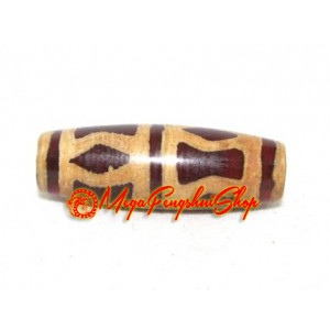 Antiquated Tibetan Dzi Bead (Dorje)