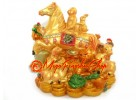 Auspicious Horse with Zodiac Friends