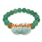 Aventurine Lucky Charm Bracelet with Jade Pi Yao