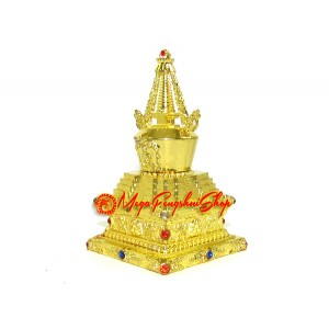 Bejeweled Golden Stupa