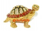 Bejeweled Golden Tortoise