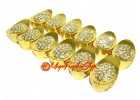 Bejeweled Superior Gold Ingots with Dragon and Phoenix