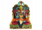 Bejeweled Wealth King Gesar Statue