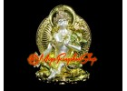 Bejeweled Wish-Granting Fertility White Tara