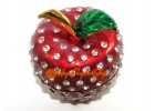 Bejeweled Wish Granting Apple Trinket Box