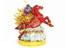 Bejewelled Flying Windhorse for Success Luck