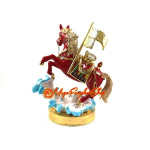 Bejewelled Windhorse for Success Luck