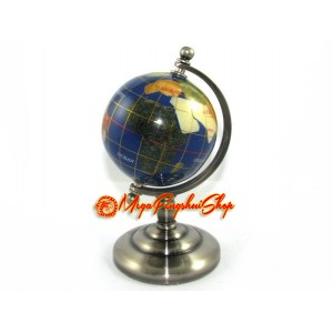 Blue Crystal Fengshui Globe