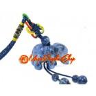 Blue Sodalite Elephant Hanging