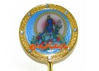 Blue Tara Mirror for Subduing Violence, Dark Spells and Disasters