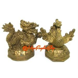 Brass Feng Shui Four Celestial Animals