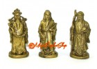 Brass Fuk Luk Sau Deities