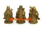 Brass Mini Fengshui Fuk Luk Sau