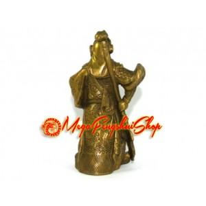 Brass Mini Standing Kuan Kong