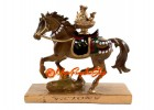 Brown Feng Shui Tribute Horse for Prosperity