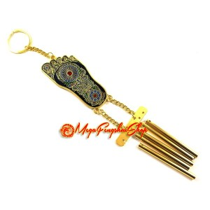 Buddha Foot 5-rod Metal Windchime