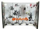 Chinese Mini Folding Screens - Plants in Chinese Painting