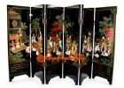 Chinese Mini Folding Screens - Saint Trace of Confucius