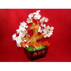 Clear Quartz Bonsai Crystal Tree