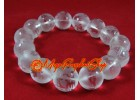 Clear Quartz Dragon Crystal Bracelet (12mm)