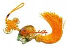 Colorful Crystal Liuli Feng Shui Arowana Tassels