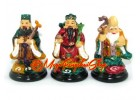Colorful Fuk Luk Sau Statues