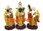 Colorful Fuk Luk Sau Statues (L)