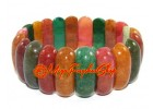 Colorful Jasper Crystal Bracelet