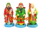Colorful Three Star Deities Fu Lu Shou