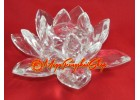 Crystal Feng Shui Lotus Flower (Clear)