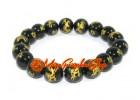 Dragon of Success Obsidian Crystal Bracelet