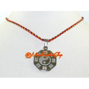 Feng Shui Bagua Stainless Steel Pendant