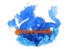 Feng Shui Blue Water Dragon (S)