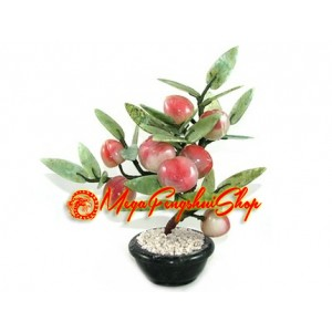 Feng Shui Crystal Peach Tree (L)