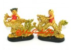 Feng Shui Dragon and Phoenix with a Boy and a Girl