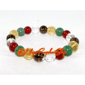 Feng Shui Five Elements Crystal Bracelet