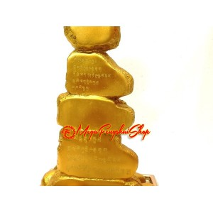 Feng Shui Mountain of Gold with Mantra