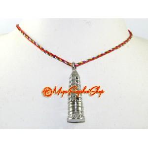 Feng Shui Pagoda Stainless Steel Pendant
