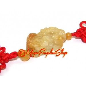 Feng Shui Piyao Tassels (Yellow Jasper)