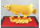 Feng Shui Wealth-Inviting Golden Arowana