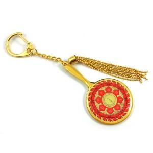 Fire Protection Wheel Mirror of Avalokiteshvara Keychain
