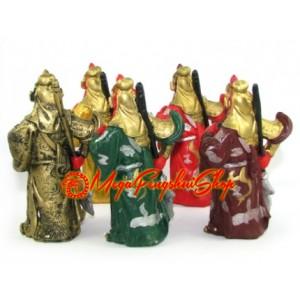 Five Element Feng Shui Guan Gong Statues
