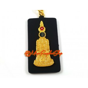 Five Element Pagoda Talisman Keychain