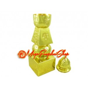 Five Element Pagoda with Tree of Life (8 Inches)