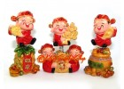 Five Springy Wealth Deities